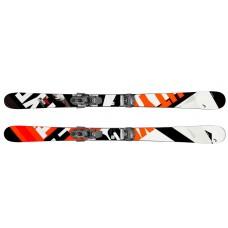 Caddy  Jr (горные лыжи) black/red