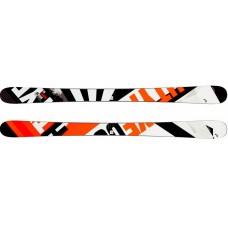 Caddy  Jr (горные лыжи) black/neon orange