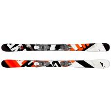 Caddy  Jr  + SX 7.5 GW AC Brake 90 [J] (314069+114083) (горные лыжи+крепления гл) black/neon orange