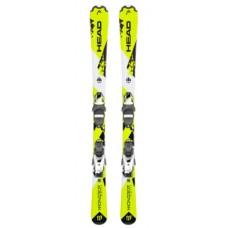 Monster  SLR 2 (67-107) + SLR 4.5 AC BRAKE 74 [I] (314288+100682) (горные лыжи+крепления гл) neon yellow/white