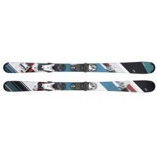 Souphead SLR Pro + SLR 4.5 GW AC Brake 74 [I] (314499+114362) (горные лыжи+крепления гл) black/turquoise