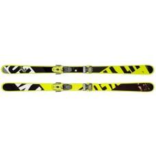Frame Wall (горные лыжи) black/neon yellow