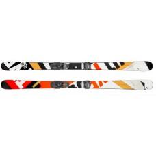 Caddy (горные лыжи) black/neon orange