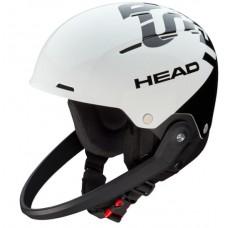 TEAM SL Rebels + Chinguard шлем горнолыжный с чингардой white/black