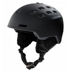 REV шлем горнолыжный Black